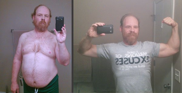 Mark didn't like what he saw in the mirror, so he made a change at the Y.