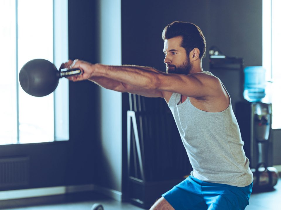 Weight training can increase your body confidence and help improve self-esteem..