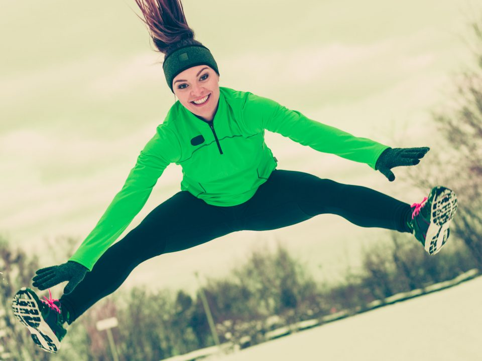 Just because it's could outside doesn't mean you should lose your workout motivation.