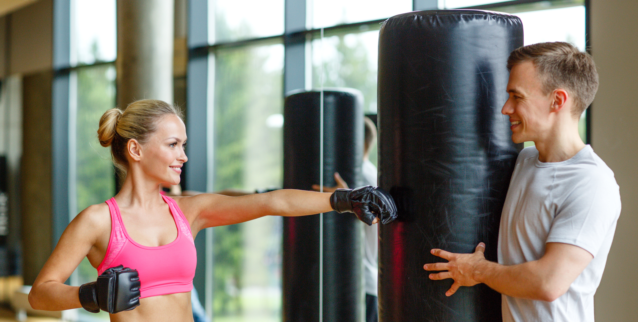 Kickboxing Boot Camp at the YMCA
