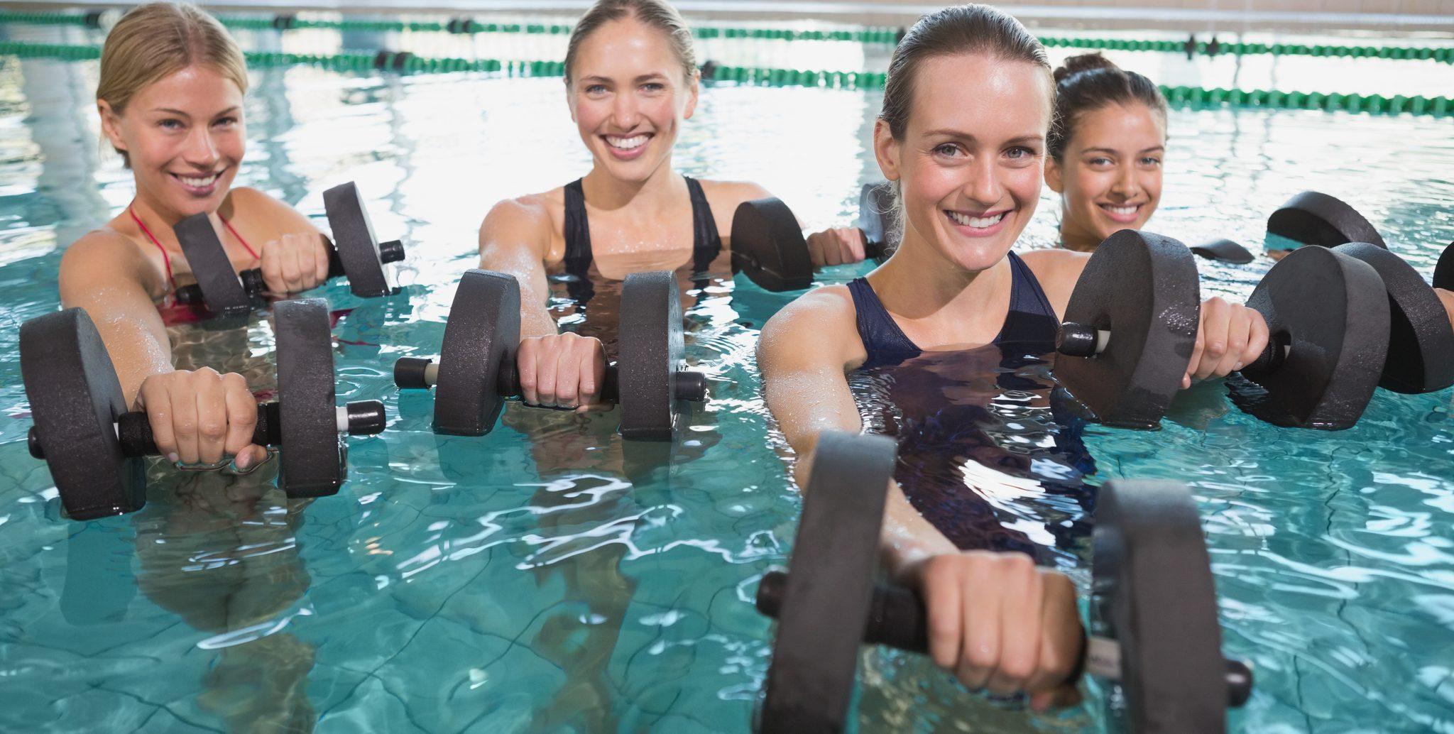 Aquaerobics at the Y