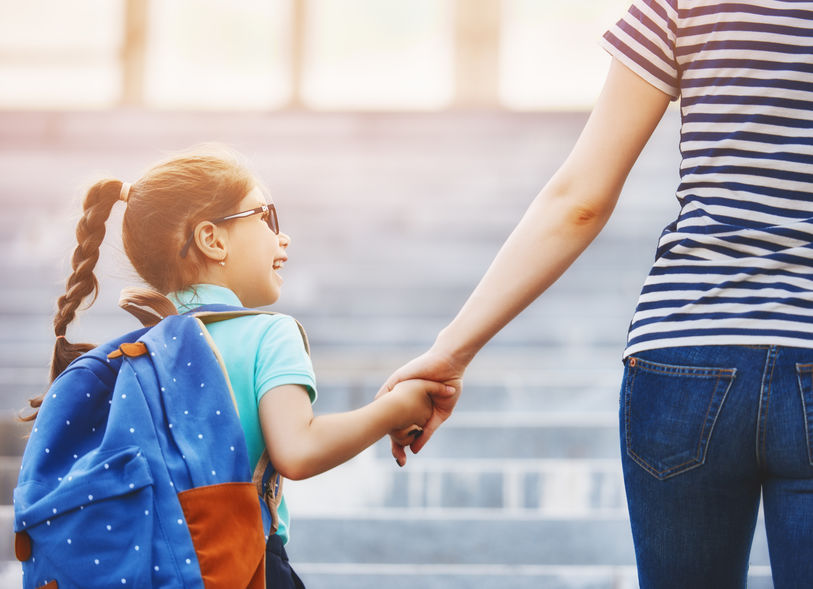 Parents looking for healthy back-to-school tips for kids.