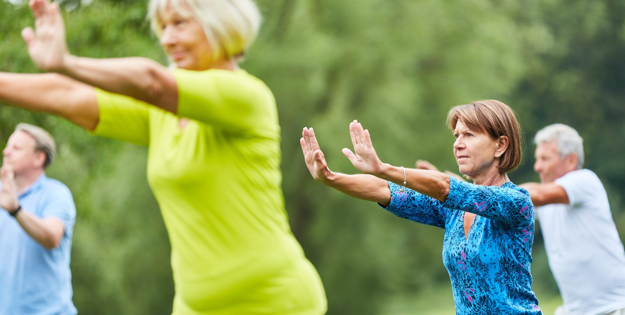 YMCA Tai Chi Flow classes allow for additional movement and flow.