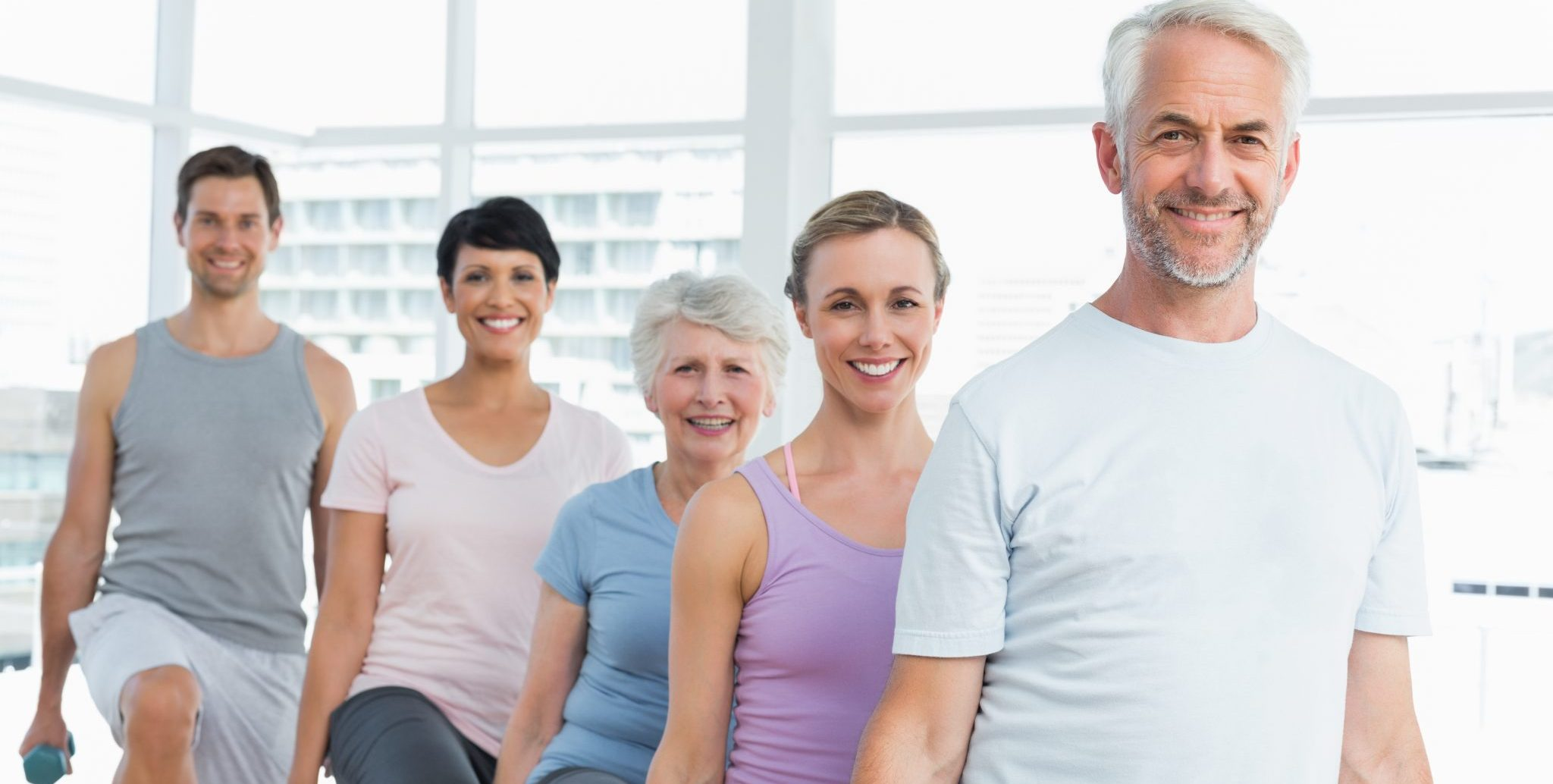 Zumba Gold provides modified dance and cardio moves for older adults.
